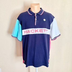 Hackett London Cooper Bikes Slim Fit Polo Shirt